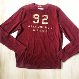 ABERCROMBIE & FITCH MUSCLE LONG SLEEVE XL